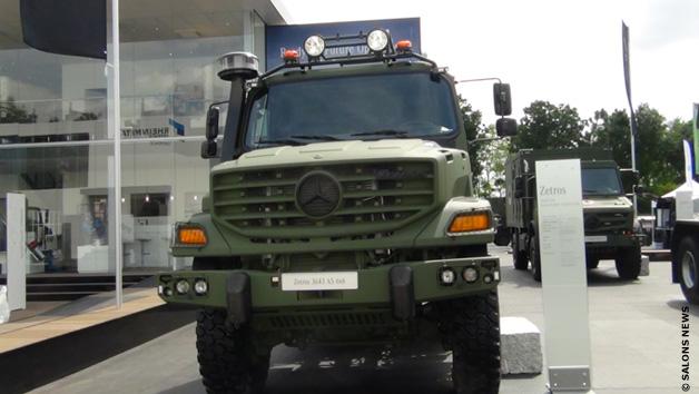 زيتروس Zetros، شاحنة عسكرية لكافة الطرقات من صنع شركة مرسيديس بينز Mercedes Benz