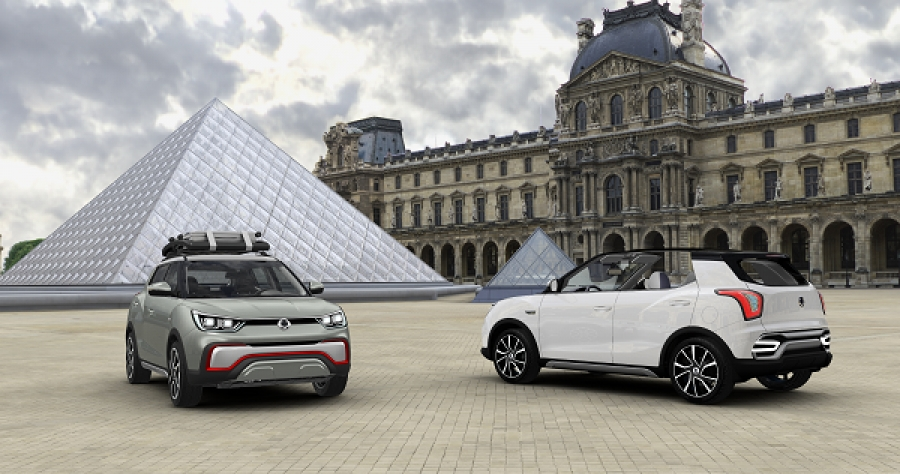 سانغ يونغ SsangYong XIV « AIR » et « Adventure »